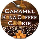 Caramel Kona Coffee Cookie
