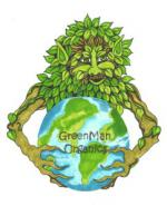 Logo GreenMan Organic Seeds