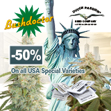 -50% on all USA Special Varieties